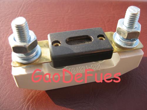 供应SL-006叉栓式汽车保险丝座图片