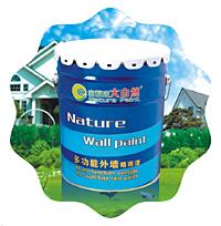 供应中国涂料油漆十大品牌广东名牌涂料央视广告大自然纳米漆图片