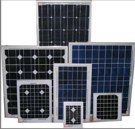太阳能光伏电池板图片