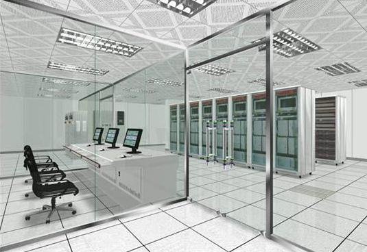 事项机房的装修: 先要按照有关标准和技术规范,根据具体选用