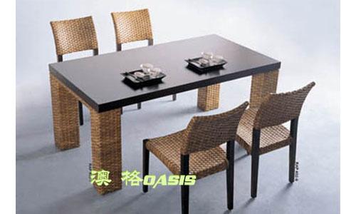 餐厅酒吧金属桌椅
