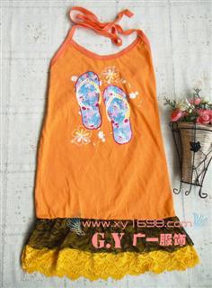 供应春夏季都可以穿的服装纯棉吊带批发时尚短袖批发流行的吊带批发批发