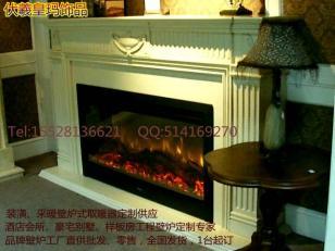 受装修喜爱的大理石壁炉及炉芯供应图片
