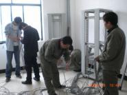 黄岛系统集成弱电施工网络布线图片