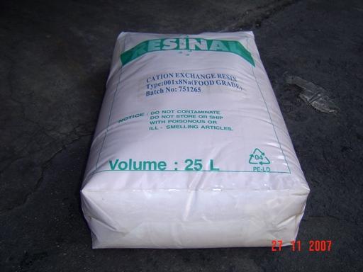 供应废水处理回收专用大孔吸附树脂 废水除镍回收专用大孔吸附树脂图片
