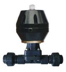 上海嘉泰供應UPVC雙由令氣動隔膜閥、氣動隔膜閥生産廠家