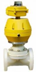 供应PVDF氣動隔膜閥、强腐蚀氣動隔膜閥、隔膜閥