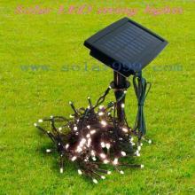 供应太阳能LED灯串圣诞灯串装饰灯串50L-60L-100灯