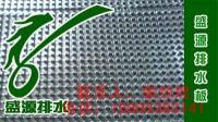 供应12mm排水板蓄排水板小区车库顶绿化专用