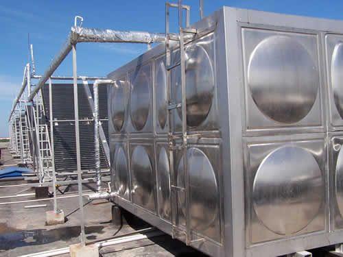 宿迁太阳能热水工程方形保温水箱报价