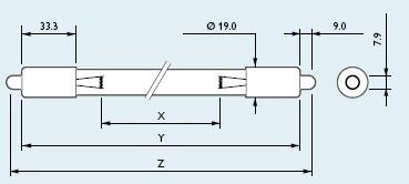 供应飞利浦TUV64 T5 HO SP 145W单端单针杀菌灯管