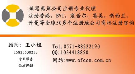 杭州臻思投资咨询有限公司离岸部