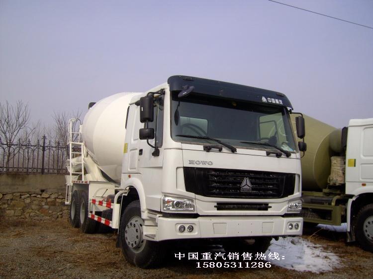 供应中国重汽新款豪沃方搅拌车