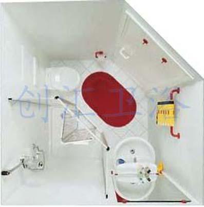 创汇整体卫生间整体浴房整体浴室报价