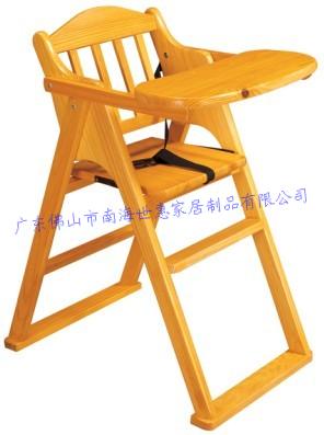 供应P-06儿童餐椅实木餐椅儿童家具椅批发