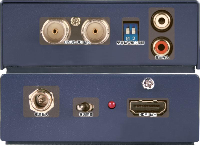 转换器图片简述:投影机或者大型屏幕显示器也是导播输出的...