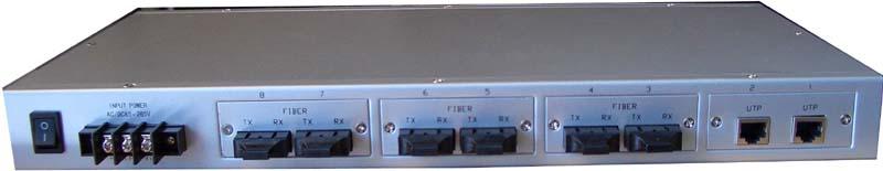 供应ME-S2008系列8口千兆光纤交换机