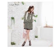 虎门韩版女装品牌代理春装加盟图片