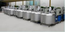 龙强供应乳品机械高剪切乳化机新型混冷储奶罐86990326