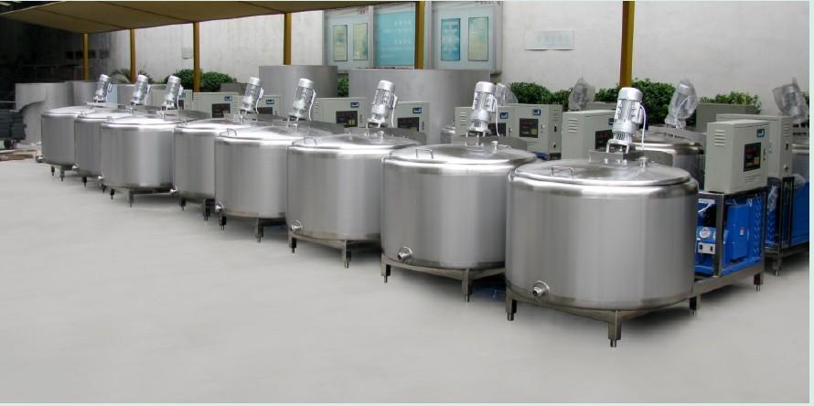 龙强供应乳品机械高剪切乳化机新型混冷储奶罐86990326批发
