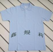 供应230克全棉精梳T恤衫空白广告衫