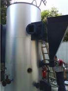 四通锅炉立式生物质1吨锅炉图片