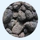 供应山东济南黑火山岩生物滤料、火山岩滤料厂家价格批发
