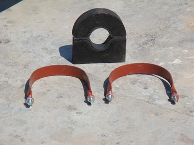 供应侵油氨管u型木托