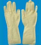 12寸光面乳胶手套图片