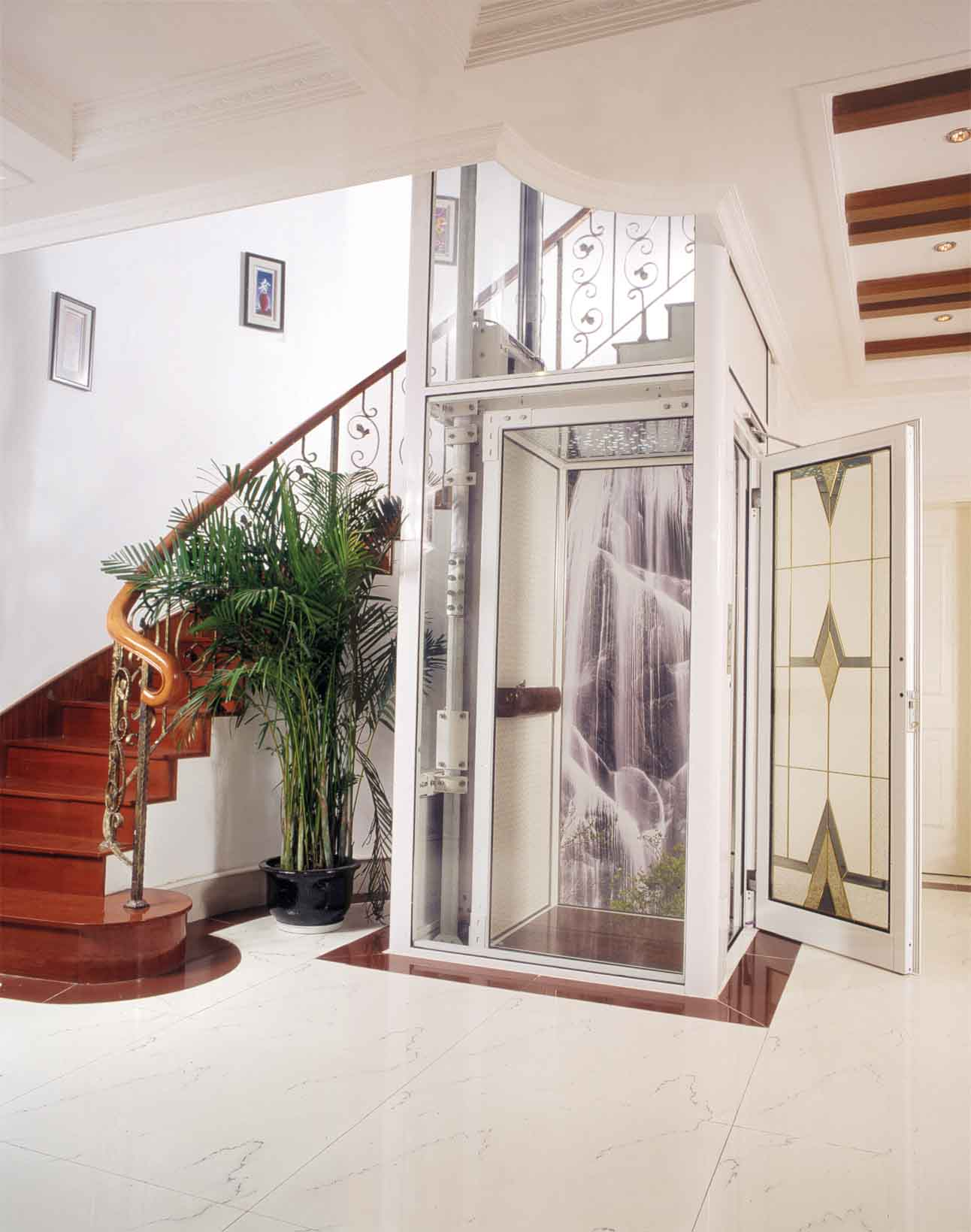 上海多美适别墅电梯营销中心图片