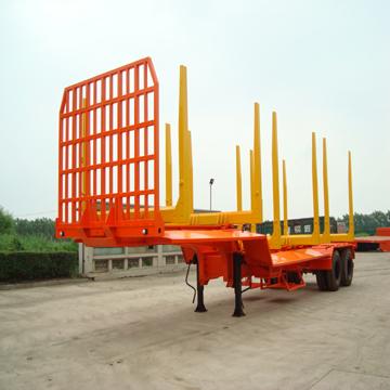 挂车 相关报价:供应两桥木材运输挂车 批发市场