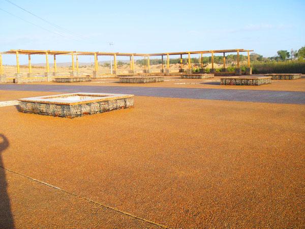 供应彩色透水地坪透水混凝土