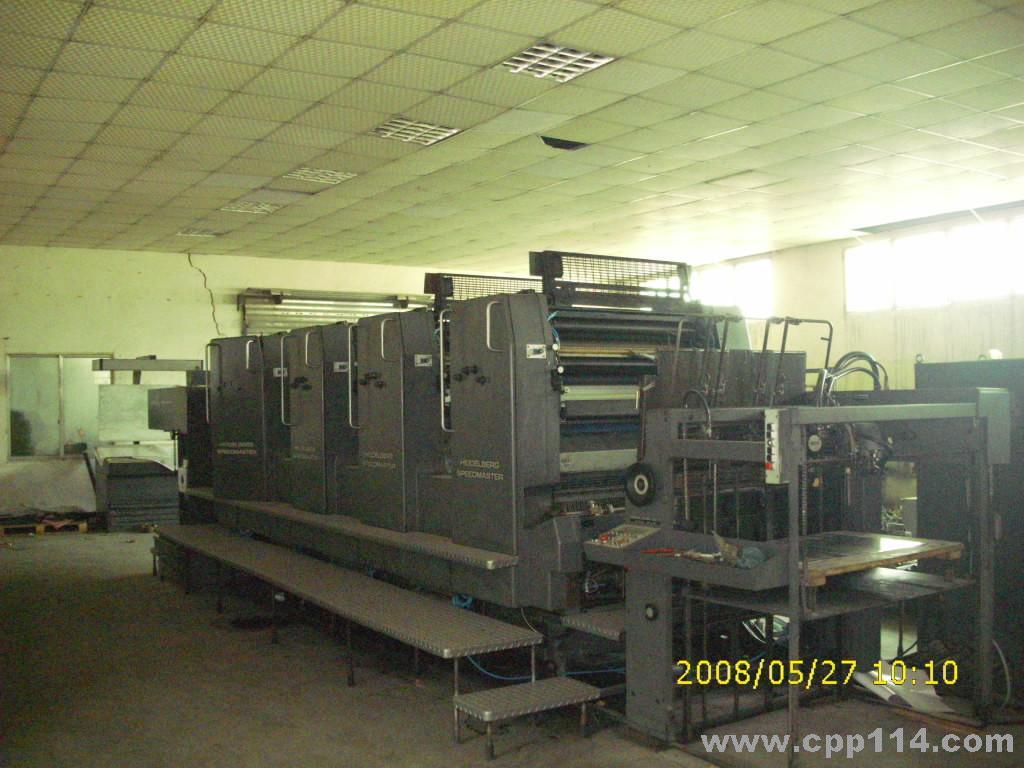 海德堡印刷机图片 海德堡印刷机样板图 二手机械代理 海德...