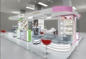 供应江苏化妆品柜台展柜设计公司批发