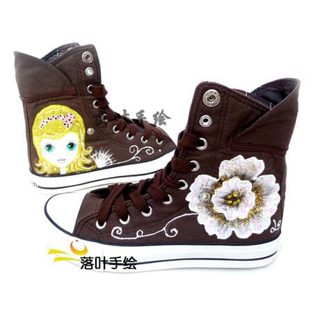 涂鸦手绘鞋子图片