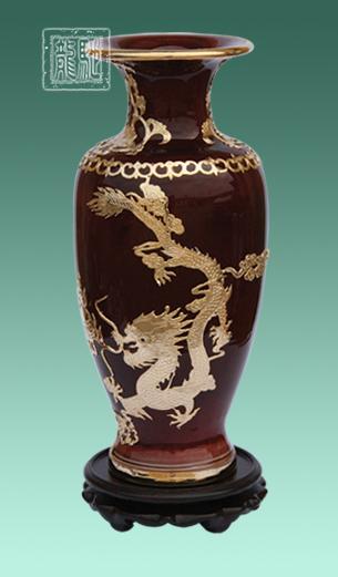 供应金镶玉花瓶、官窑花瓶、钧瓷花瓶系收藏礼品花瓶批发