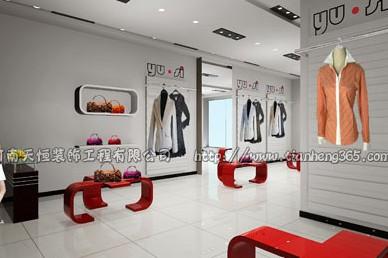 供应郑州专卖店装修公司专卖店设计审美情趣 服装店装修设计的形式美