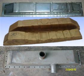 供应水室水盒、铜水室、铁水室