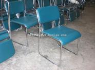 电镀皮面会议椅图片