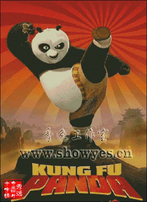 功夫熊猫卡通