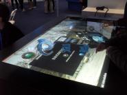 互动桌面互动橱窗技术图片