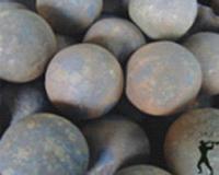 供应锻造耐磨钢球125mm 选矿钢球