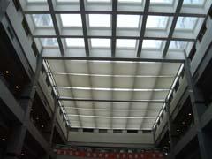 供应FTS遮阳天棚帘、电动天棚帘、折叠式天棚帘图片