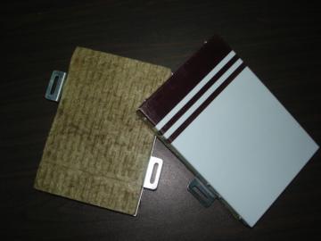 供应岩棉铝板保温装饰一体化 江苏地标A级保温材料图片