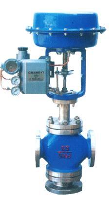 供应zjhx/q气动薄膜三通调节阀图片
