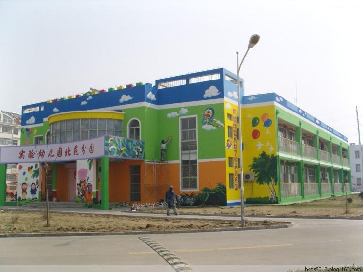 幼儿园手绘壁画墙体卡通画外墙绘画合肥