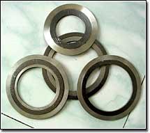 供应法兰配件304内外环金属缠绕垫片