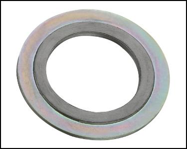 供应法兰配件带外环金属缠绕垫片