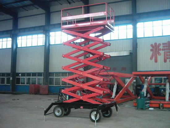 四轮移动式液压升降平台生产厂家图片/四轮移动式液压升降平台生产厂家样板图