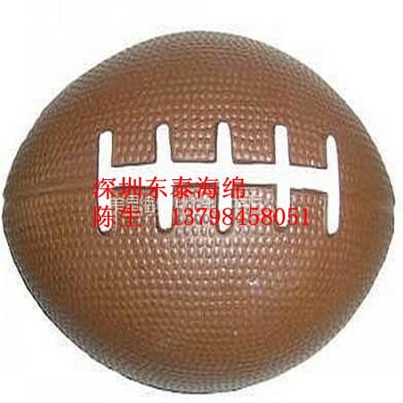 海绵球pu橄榄球足球图片/海绵球pu橄榄球足球样板图